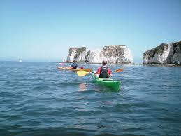 Kayaking Old Harry